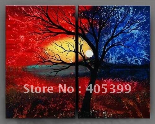 Free shipping ,Huge  Modern Abstract Oil Painting on Canvas ,Wall Art  Painting JYJLV231