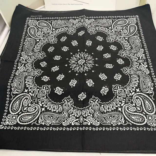 100% Cotton Bandana Square Scarf  4