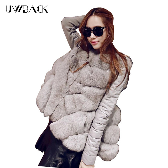 2017 new brand faux fur coat women plus size fausse fourrure white faux fur jacket women warm cloak faux fur vest women TB809 curved faux fur vest