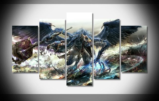 7453 warhammer 40k poster framed gallery wrap art print home wall decor wall picture already to