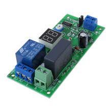 AC220V Delay Timer Switch Turn Off Board 0 Seconds-99 Minutes Delay Relay Module dkj y 60 minutes 15a delay timer switch for electronic microwave pressure oven cooker