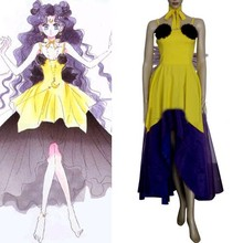 Sailor Moon Luna Human Form Cosplay Costume E001