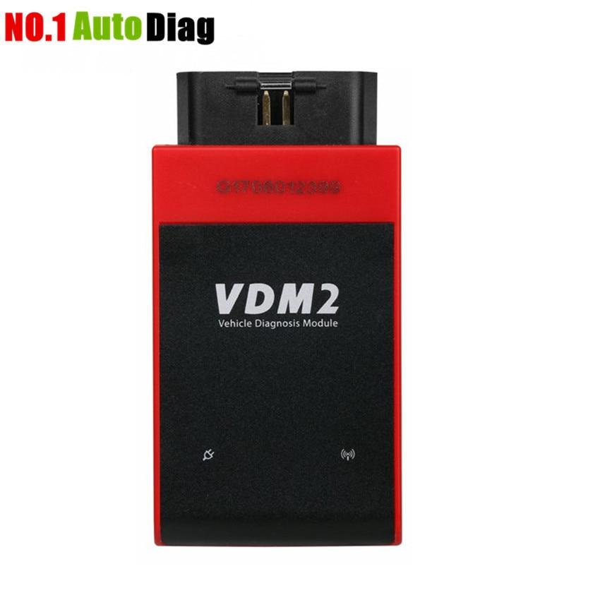 Prix pour Nouvelle arrivée Multi-Langue Date V3.9 Wifi UCANDAS VDM2 plein Automatique des systèmes De Diagnostic Scanner pour Android VDM II même COMME VDM