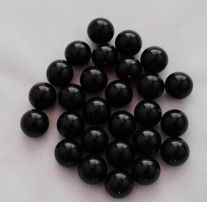 New 10pcs/lot Super Bright Hot Sale 16mm Black Glass Marbles Bead Toy Game Play Gift Fish Decor Fit For Decoration