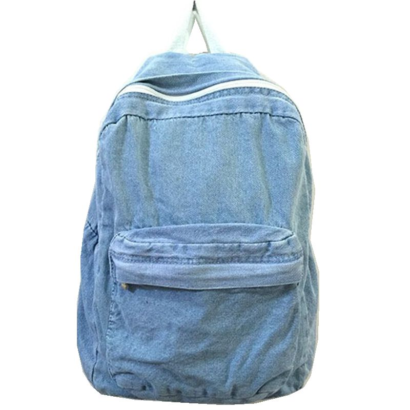 2015 New Fashion School Bags for Girls And Boys Travel Denim Backpack Students Computer Backpacks for Women Rucksack Style point systems migration policy and international students flow