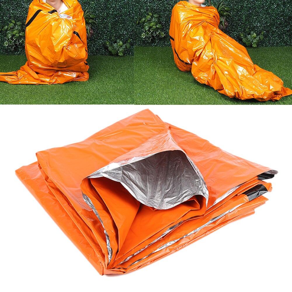 Открытый Спальные мешки аварийного спальный мешок Портативный легкий полиэтилен Сумки спальный мешок для кемпинга Пеший Туризм Путешествия