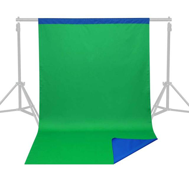 free 10x12ft dual sides chromakey blue green screen studio seamless