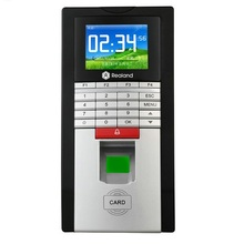 Color Lcd TCP IP RS485 Fingerprint RFID Pincode Voice WG26 output door lock Access Control attendance system(China)