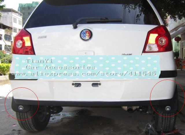 Free shipping/Car Mudguards/Hot sale High quality Geely MK cross Car Mudguards/one set 2pcs/Wholesale+Retails