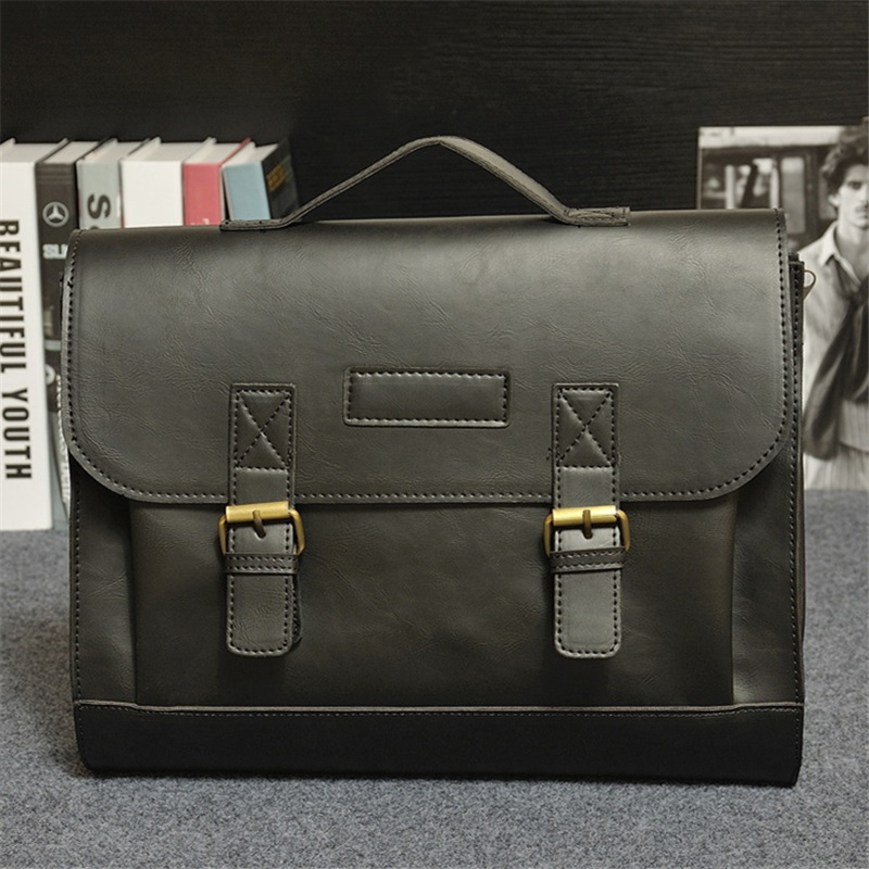 Beaumais Men Office Bag Business Briefcase Men Messenger Bags 2017 ...