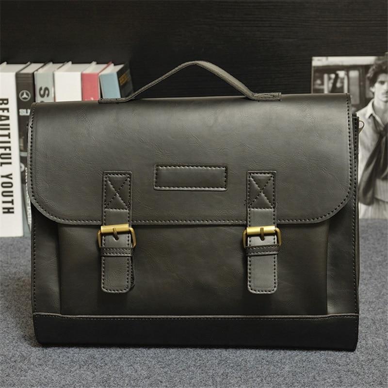 Beaumais Men Office Bag Business Briefcase Men Messenger Bags 2017 ...