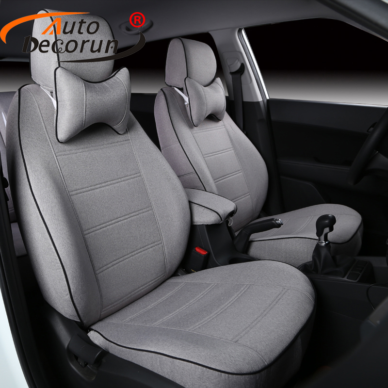 AutoDecorun Seat Cover Car For Jeep Commander 2007 Seat Covers Cars Cushion Covers Seat Supports Interior Accessories 24PCS/Sets