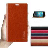 Для Meizu M5C высокое качество роскошные Пояса из натуральной кожи Sucker телефона чехол для Meizu M5C meilan 5C Флип Стенд бумажник мобильного телефона