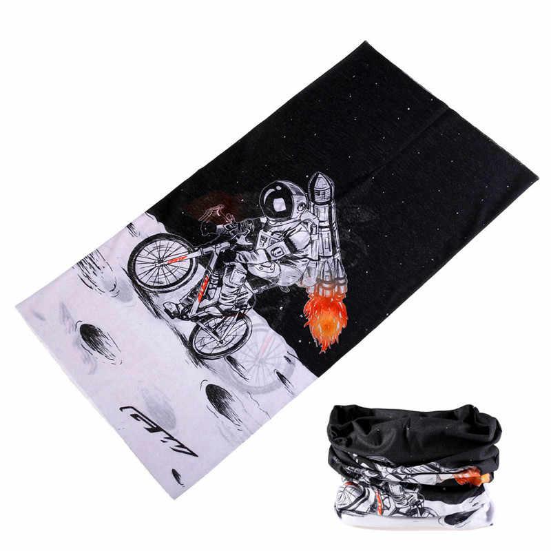 3D Galaxy Printing для женщин и мужчин Волшебные бесшовные банданы многофункциональная маска для лица Бандана головная Косынка велосипедная повязка на голову трубка хиджаб баффе
