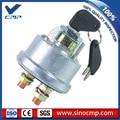 SINOCMP 7N-0718 7N0718 два провода зажигания переключатель с 2 ключами  3 месяца гарантии