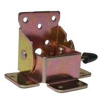 4pcs Iron Locking Folding Table Chair Leg Brackets Hinges for Table Chair Home Furniture Hinge Bracket Hardware Tools