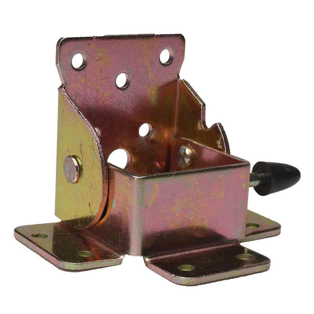 4pcs Iron Locking Folding Table Chair Leg Brackets Hinges For Table Chair  Home Furniture Hinge Bracket