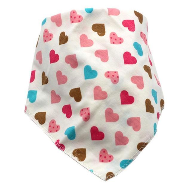 Waterproof Triangle Cotton Baby Bibs