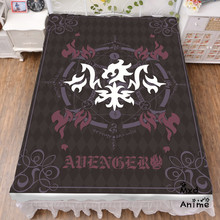 Japanese Anime fate grand order Alter Bed sheet Throw Blanket Bedding Coverlet Cosplay Gifts Flat Sheet cd015