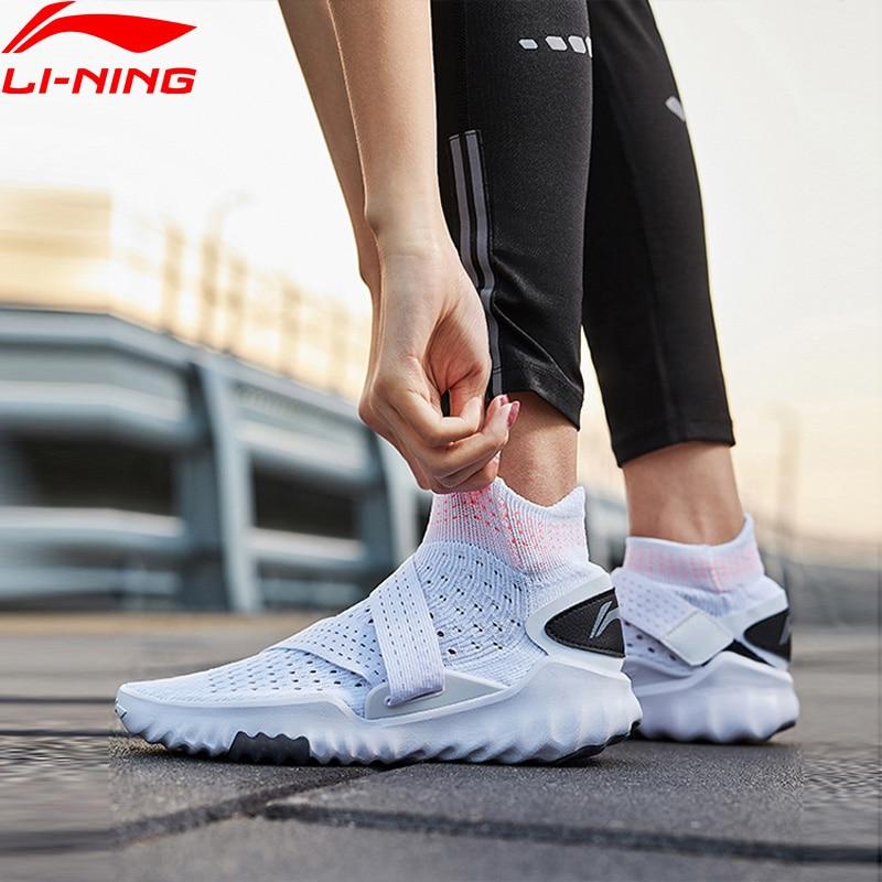 Li Ning Women 3D SOCK SHOE PRO Smart Quick Training Shoes Breathable Light High Cut LiNing