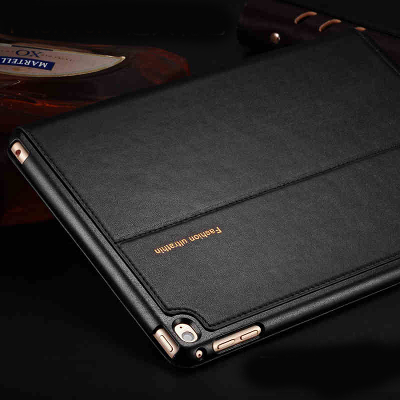New Top Quality genuine leather case for ipad mini 4 smart cover sleep protective case for ipad mini4 A1538 A1550+Free Film ...