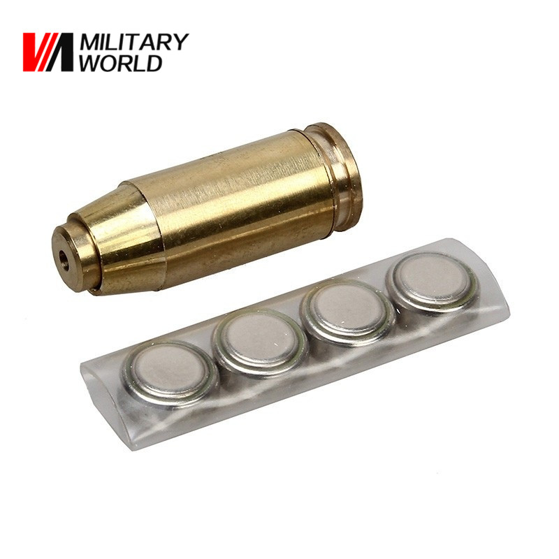 40 ACP Cartridge Visible Red Dot Laser Sight Scopes Tools Hunting Shooting Paintball Hutning Scope Sighting Accessories