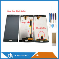 Black Blue Color 5.5 Inch For Doogee BL7000 LCD Display With Touch Screen Assembly With Tools Tape