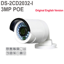 Original English Version Hik DS-2CD2032-I Replace DS-2CD2032F-I DS-2CD2035-I Bullet CCTV 3MP IP Camera Outdoor POE