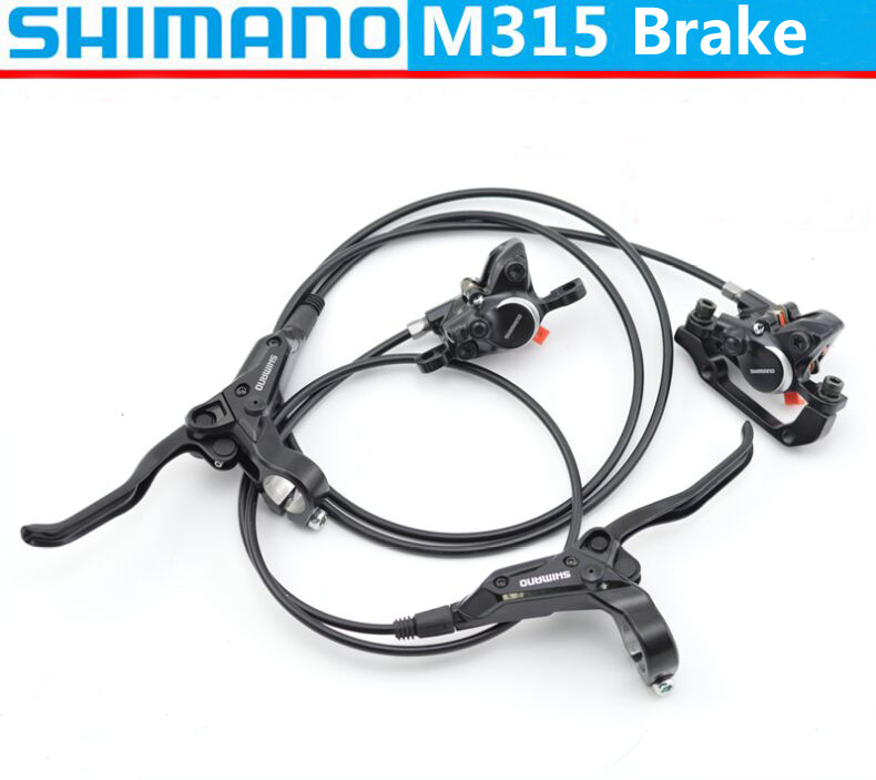 Shimano Hydraulic Brakes for Bikes BR-BL-M315 M315 Brake Mountain MTB Bicycle Disc Brake Left & Right Lever no style to M355