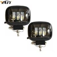 Yait 2 шт. 4,5 дюймов 30 Вт Автомобильные фары светодиодный рабочий свет для внедорожников 4X4 4WD автомобильный Магнитный кронштейн для вождения п...
