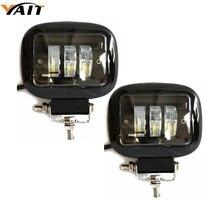 Фары головного света Yait 2 шт., 4,5 дюйма, 30 Вт, светодиодные фары рабочего света для внедорожников 4x4 4WD ATV UTV SUV, противотуманные фары дальнего света