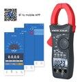 Цифровой зажим мультиметр для авто зажим мультиметр с измерением напряжения и тока ESR измеритель температуры тестер легко подключить с при...