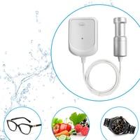 Portable Ultrasonic cleaning Machine Watch EyeGlasses Dishes Fruit Vegetable Jewelry Teeth Denture Tableware Bath Trip