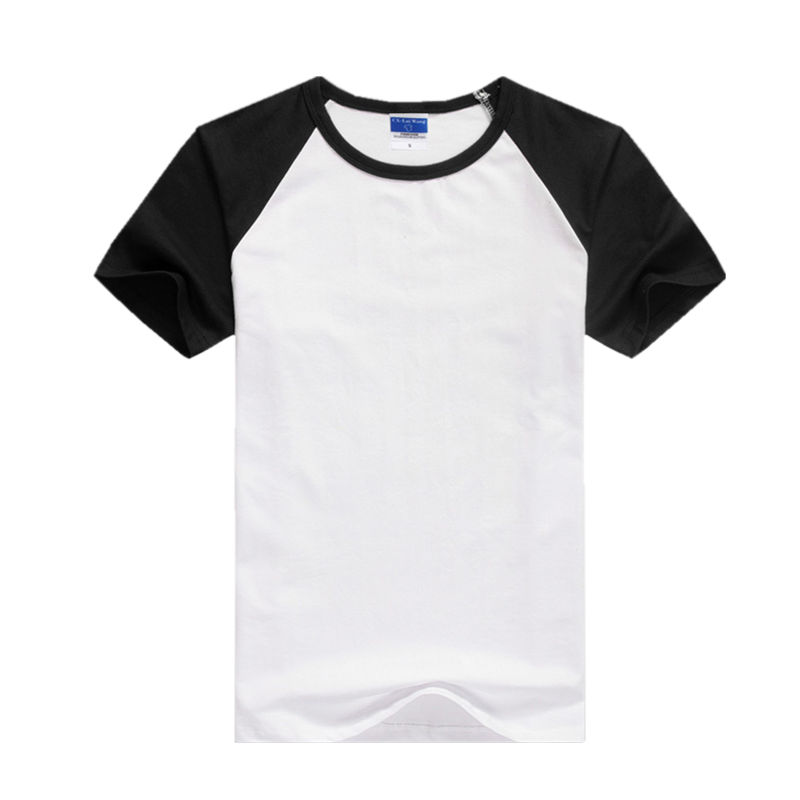 Mens Slim Fit Zip Up Summer Tops Short Sleeve Casual Cotton T-shirts White Black