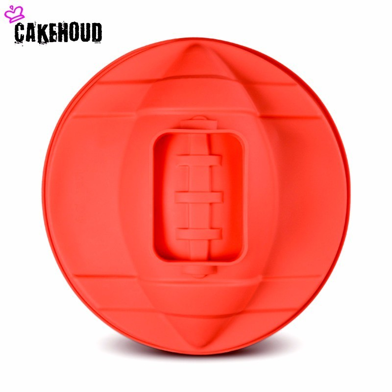 CAKEHOUD Large Round Chiffon Cake Mold Rugby Ball shaped Silicone Cake Bread Baking Tools Kitchen Cake Mold in Cake Molds from Home Garden