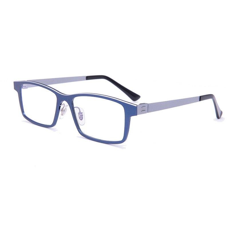 Nouveaux hommes et femmes tendance aluminium-magnésium alliage lunettes affaires optique lunettes mode sauvage lunettes cadre myopie