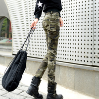 Fashion Women Camo Slim Trousers Summer Thin Section Pants Travel Camping Hiking Outdoor Sport Pant