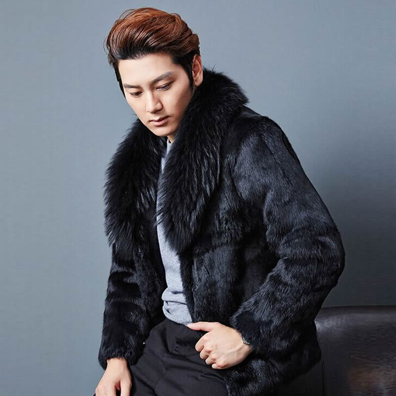 Mink Coat For Men | Down Coat