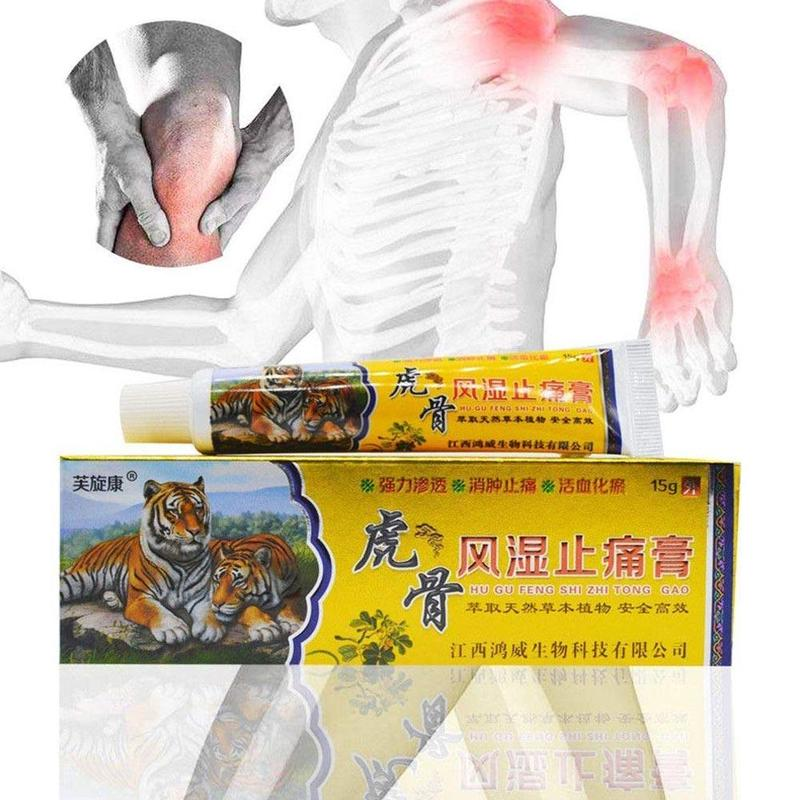 Herbal Pain Relief Cream Neck Muscle Massage Analgesic Suitable For Rheumatoid Arthritis Joint Pain Relaxing Ointment Balm 30g