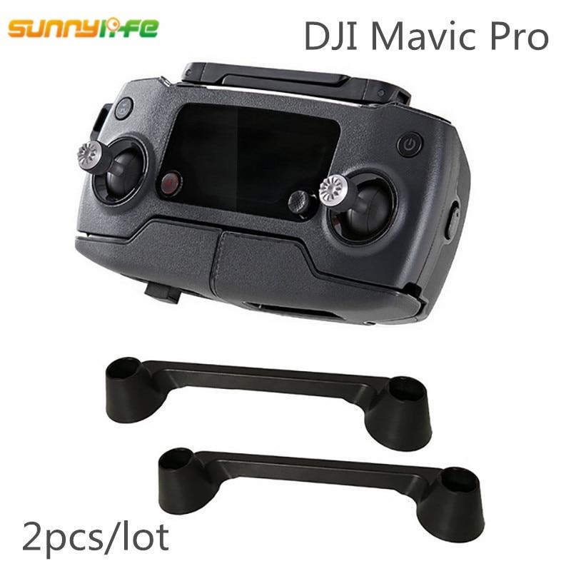 Sunnylife 2pcs Remote Controller Thumb Rocker Joystick Transmitter Protective Fixator Lever Stick Holder Bracket for font