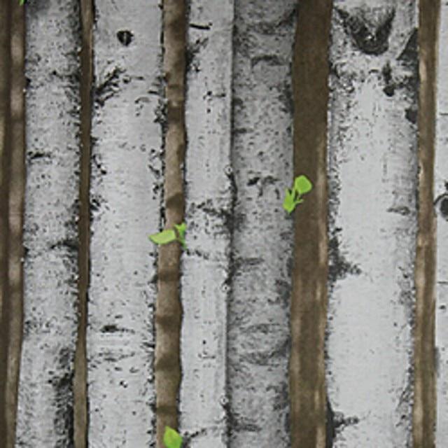Beibehang Wallpaper Natural Rustic Emboss Wood Panel Plank Vinyl