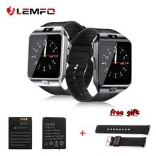 LEMFO SmartWatch DZ09 Smart Watch Support Bluetooth SIM TF Card Passometer With Battery Wristwatches For Andriod Phone