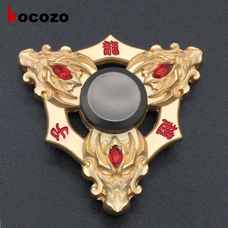 Stress Wheel Tri-Spinner Fidget Toy EDC HandSpinner Anti Stress Reliever And ADAD Hand Spinners stress reliever screaming hen squeezy toy small
