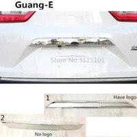 Car Cover Styling Back Rear Door Trunk Bottom Tailgate Frame Plate Trim Lamp Bumper 1pcs For Honda CRV CR V 2017 2018 2019