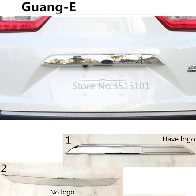 car cover styling back rear door trunk bottom tailgate frame plate ...
