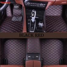 Ynooh car floor mats For ssangyong kyron actyon korando rexton tivoli car mats accessories