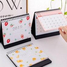New 2019 Year Arrivals Cute Table Stand Desktop Pink Kawaii Calendar Blocks Kawaii To Do List Japanese Korean Office Stationery