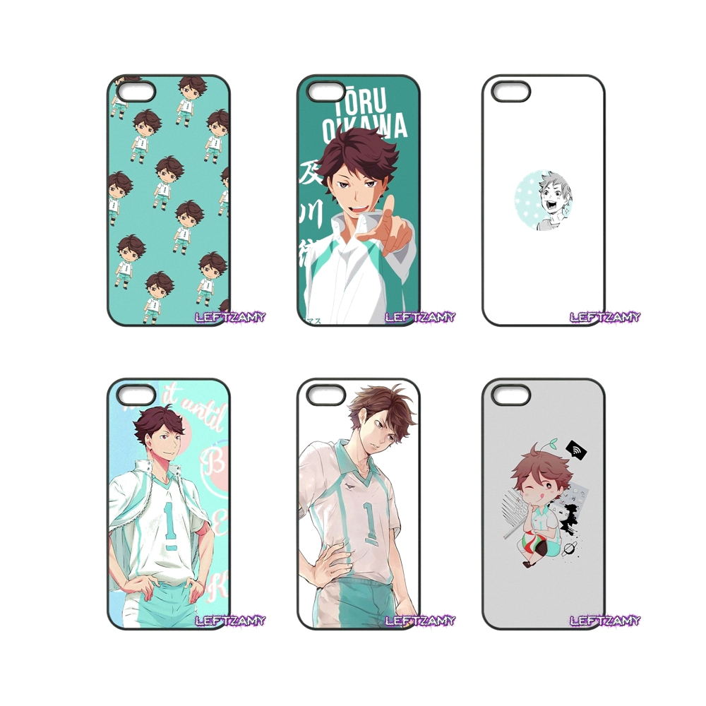 Oikawa Tooru Haikyuu Pattern Hard Phone Case Cover For iPhone 4 4S 5 5C SE 6 6S 7 8 Plus X 4.7 5.5 iPod Touch 4 5 6