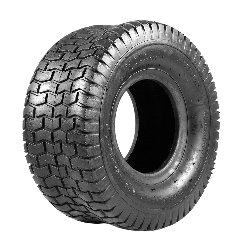 15x6.00-6 4 Ply Lawn and Garden Ribbed Tire