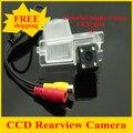 Maior nightvision 4 leds CCD HD de backup impermeável estacionamento reverso câmera de visão traseira do carro para SsangYong Kyron Rexton II
